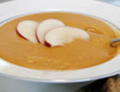 Creamy Butternut Squash with Cinnamon Soup